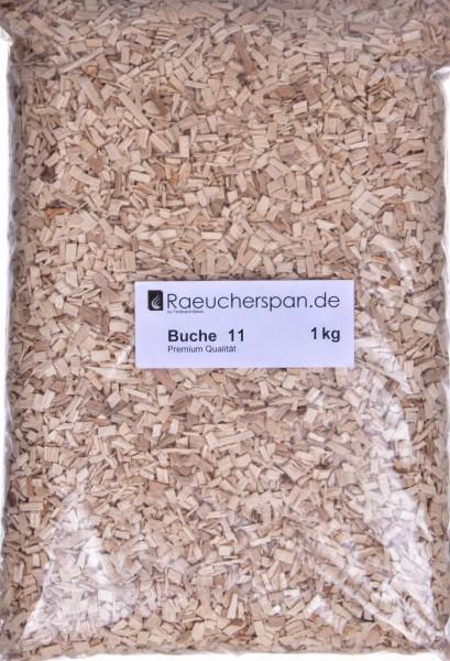 Räucherspäne aus Buche Typ 11 1kg zum Heißräuchern und Warmräuchern