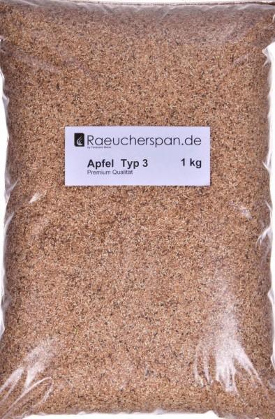 Apfel Räuchermehl, Typ 3, beste Premium Qualität sorgt für milden,und aromatischen Genuß