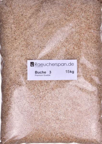 Räucherspäne Buche, 500-1000, 0,3-1mm, Typ 3 15kg