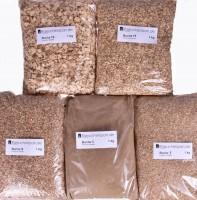 Räucherspäne Räuchermehl Buche in verschiedenen Körnungen zum Heißräuchern, Warmräuchern und kalträuchern