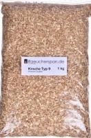 Räucherspäne aus  Kirschholz Typ 9 1,0kg