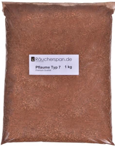 Räucherspäne aus Pflaumenholz Typ 7 beste Qualität