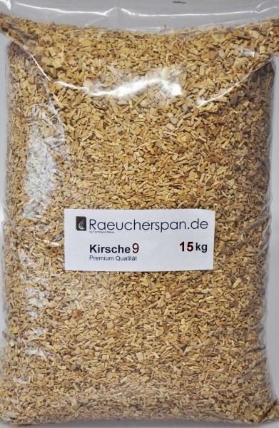 Räucherspäne Kirsche, Typ 9, 2 - 4mm, 15kg