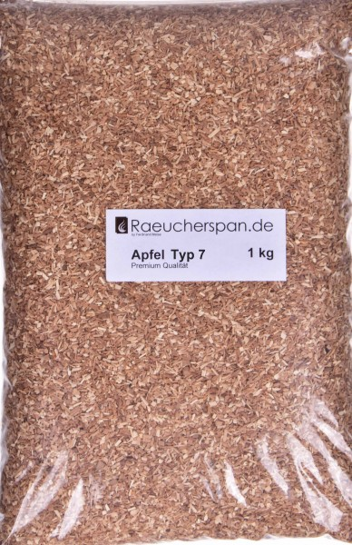 Apfel Räuchermehl Typ 7 1,0kg