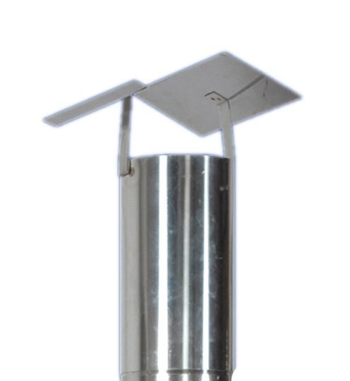 Regendach / Regenhaube BEELONIA für Rauchabzug aus V2a