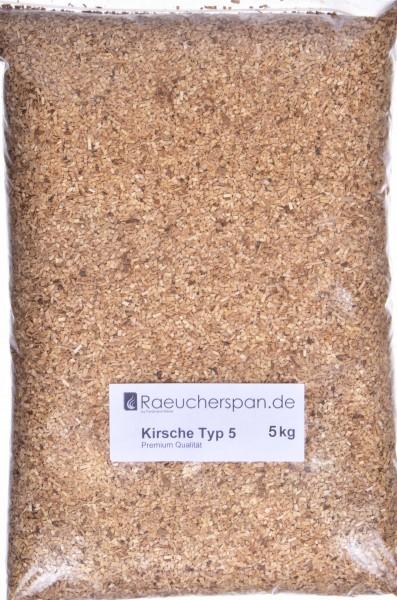Räucherspäne aus Kirschbaum Typ 5 Borniak geeignet, 5kg