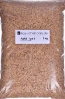 Apfel Räuchermehl, Typ 3, beste Premium Qualität sorgt für milden,und aromatischen Genuß 1kg